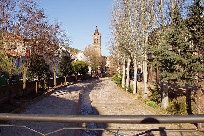 Ruta pueblo mudéjares - Herrera de los Navarros