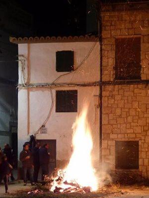 Hogueras de San Antón - Herrera de los Navarros