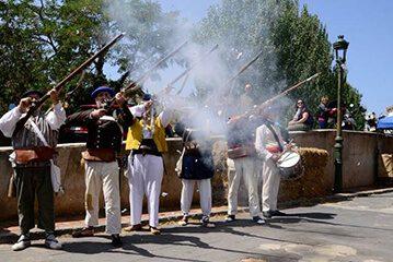 Representación Batalla Carlista - Herrera de los Navarros